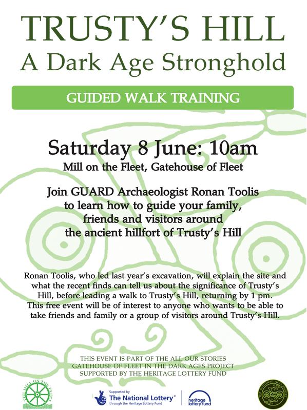Trusty's training poster