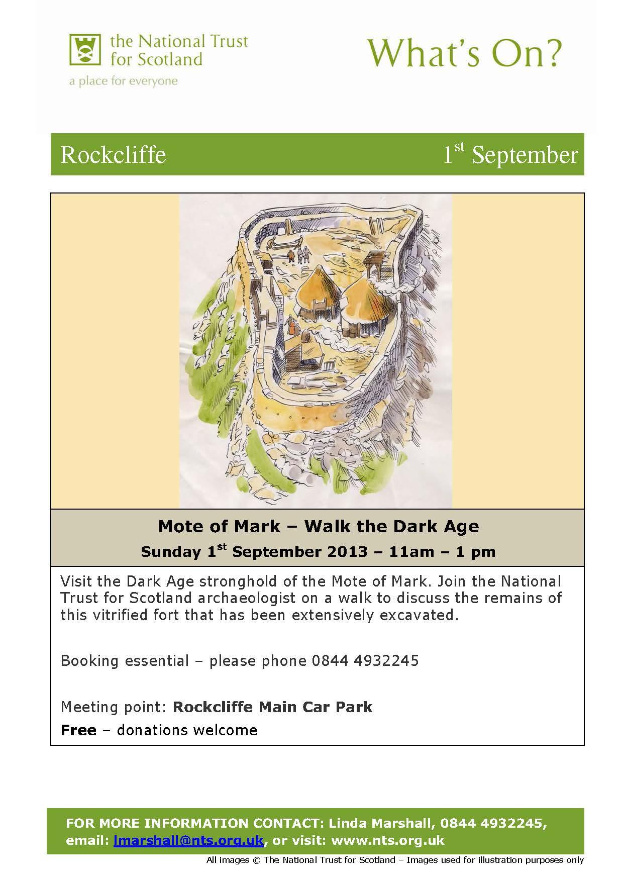 Mote of Mark Walk