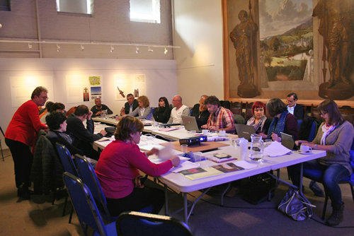 European Rural Heritage Promoter Meeting at the Mill on the Fleet 28 May