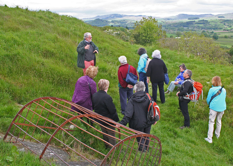 Guided Tour of Trusty's Hill 24 May