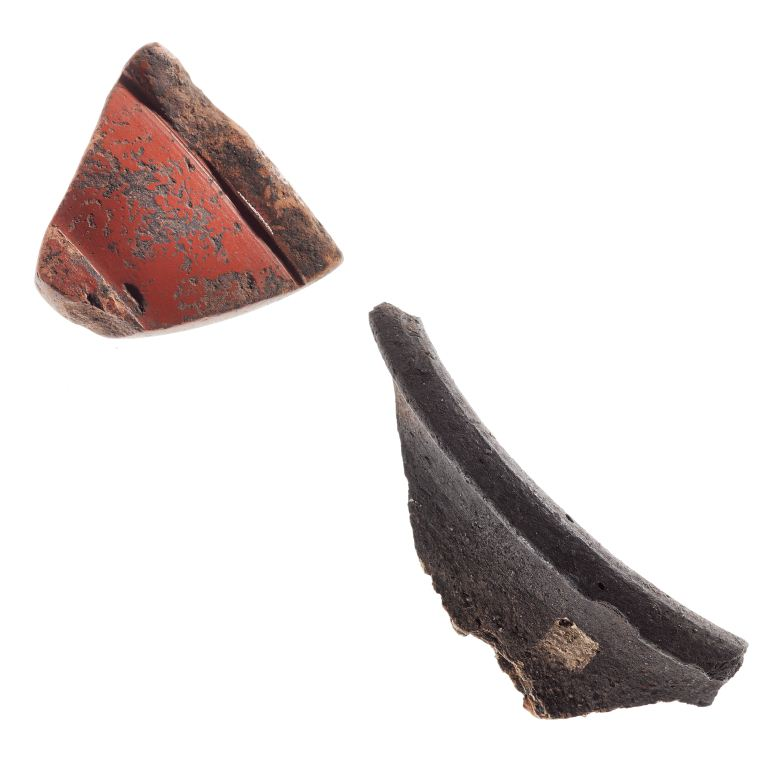 Trusty's Hill Pottery Sherds